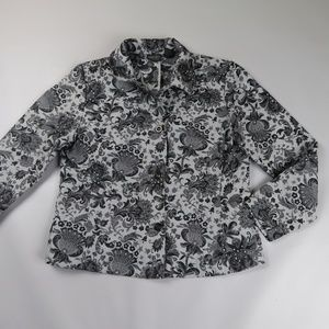 ADDITIONS by CHICO'S Brocade Lightweight jacket